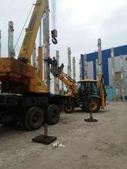 Демонтаж промышленные зданий и сооружений.Земляные работы