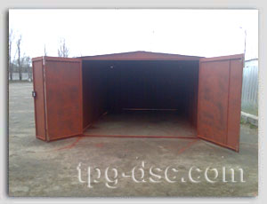 металлический гараж - main
